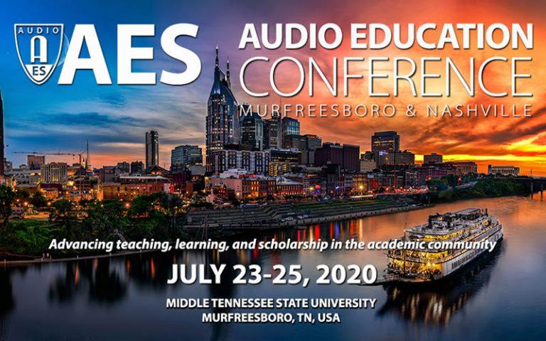 AES Audio Edu Conf 2020