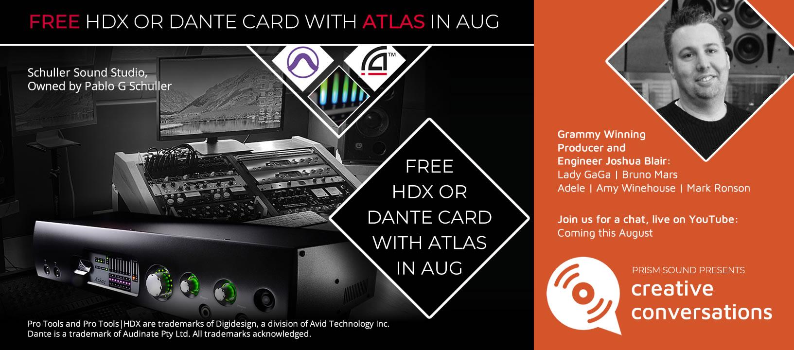 Atlas Card offer Aug 2020